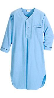 Men's Cotton Flannel Nightshirt