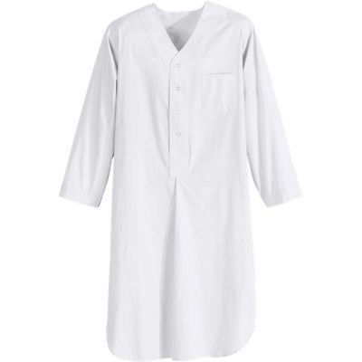 Buy mens nightshirts - Cotton Broadcloth Nightshirt