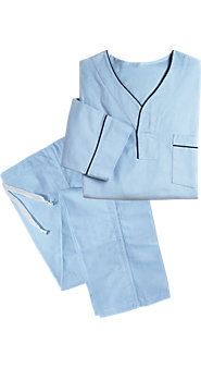 Men's 100% Cotton Flannel Pullover Pajamas