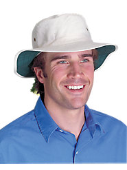 Authentic 100% Cotton Cricket Hat Protects You from the Blazing Sun