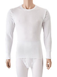 Men's Cotton Long Underwear: All Warmth, No Bulk