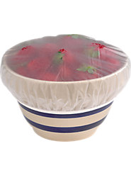 Reusable 1950s Vinyl Bowl Covers Are Still Better than Wasteful Plastic Wrap