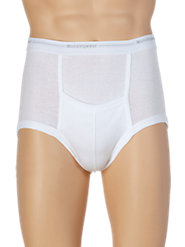 All-Cotton Knit Munsingwear Briefs with Kangaroo Pouch Offer Superb Fit