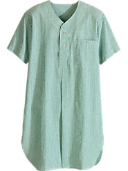 Seersucker Nightshirt: Exceptional Sleeping Comfort