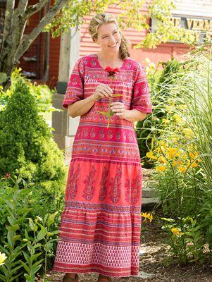 Ankle Length Muumuus Womens Tiered Muumuu Dresses