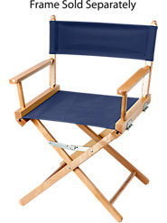Cotton Canvas Covers for Director's Chair, in 4 Colors, Will Last for Years