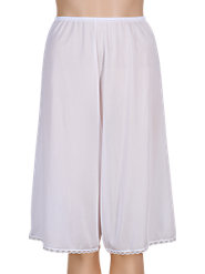 Nylon Culotte Slip for Comfort Under Culottes or Skirts