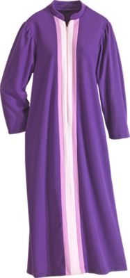 Fleece Robe Zip Front Robe