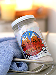 Tired Old Ass Soak Mineral Bath Salts, for the Overworked and Underappreciated