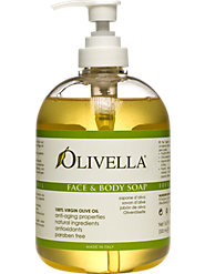 Liquid Olive Oil Soap by Olivella for Radiantly Glowing Skin