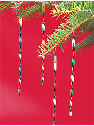 Colorful Victorian Tinsel for Your Tree Lasts for Years