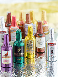 Cheers! European Chocolate Liqueurs Filled with Top-Shelf Brands