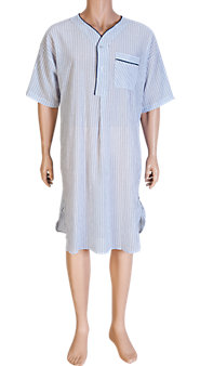 Ultra-Light 100% Cotton Voile Nightshirt Is Made for Hot Nights