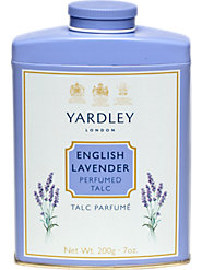 Yardley's English Talc, as Timeless as a Woman's Beauty