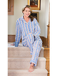 Lanz of Salzburg Flannel Pajamas