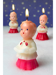 Allelujah! Classic Caroler Candles Are Back for the Holidays