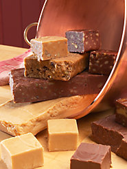 At Last: Our Four Most-Popular Fudge Flavors in One Sampler