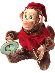 Magic Cymbal-Playing Monkey Keeps the Good Times Rolling