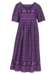 Ceylon-Print Muumuu, as Memorable as It Is Comfortable