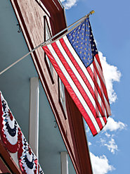 Weather- and Fade-Resistant Nylon American Flag, Proudly Made in USA