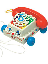 Chatter Phone Pull-Toy, Built to Last