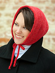 Knit Bonnet Enriched with Mohair Won't Ruin Your Hairstyle