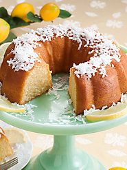 Our Luscious Lemon Bundt Cake Has a Twist to It—Vodka!