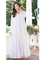 Eileen West Cotton Robe