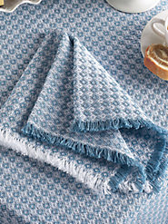 Mountain Weave Napkins Now in a More Formal Style