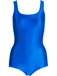 Speedo Swimsuit for Workouts Won't Ride Up and Has a Higher Neckline for Modesty
