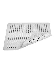 Natural Rubber Shower Stall Mat Stays Anchored with 484 Suction Cups