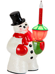 Evoke Memories of Past Christmases with This Classic Snowman Bubble Light