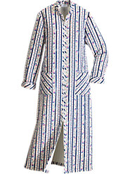 Lanz of Salzburg Quilted Flannel Robe