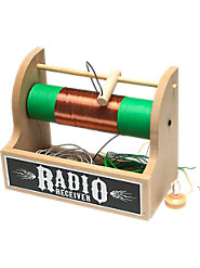 Build the Crystal Radio You Made as a Kid with a Youngster Today—Kit Has Everything You Need
