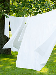 Clothesline Crisp® White Sheets: Rediscover the Cool, Fresh Joy of Your Grandmother's Sheets