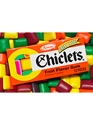 Fun-to-Chew Original Chiclets—The First Candy-Coated Chewing Gum