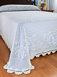 New England's Favorite: The Abigail Matelasse Bedspread