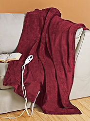 Super-Soft Electric Throw Made from Luxurious Microfiber, the Ultimate in Chill-Chasing Comfort