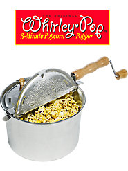 The Original Whirley Pop Popcorn Maker, a Genuine American Favorite