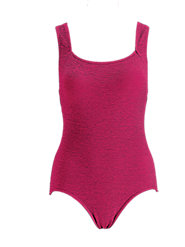 Aerobic Chlorine-Resistant Swimsuit—Stays in Place When Exercising Vigorously