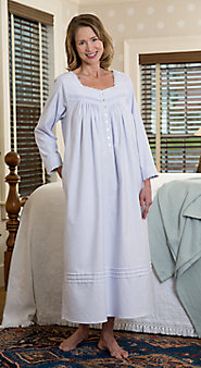 Women's Eileen West Fairy Tale Flannel Nightgown