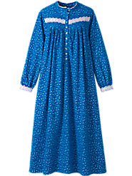 Eileen West Forget-Me-Not Flannel nightgown