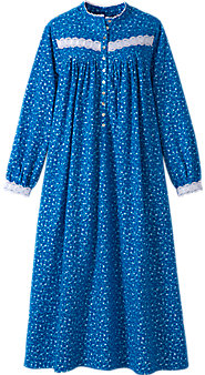 Women's Eileen West Forget-Me-Not Flannel Nightgown
