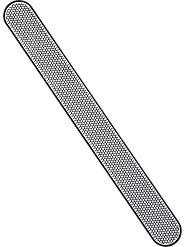 Diamonds Are a Nail's Best Friend—Nail File with Ground Diamond-Dust Prevents Splitting