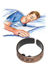 "The ""Third Wedding Ring"": Stop Snoring Naturally with This Acupressure Ring"