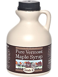 100% Pure Vermont Grade B Maple Syrup—the Hearty, Robust Syrup Vermonters Reach for Most