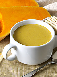 Butternut Squash Soup, Warm and Hearty with Just the Right Spices
