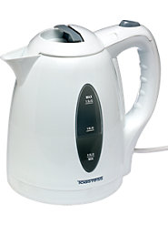 Electric Water Kettle With Hidden Heat Element Boils Water Faster Than Microwave or Stove Top