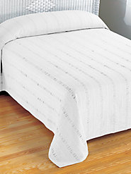 Seersucker 100% Cotton Bedspread in an Array of Solid Colors