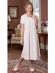 Our Sweet Dreams Knit nightgown  Is Luxuriously Soft Combed Cotton